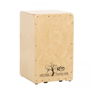 Cajón flamenco Wood line natural Katho Percusión