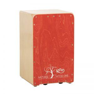cajón flamenco Wood Line Rojo