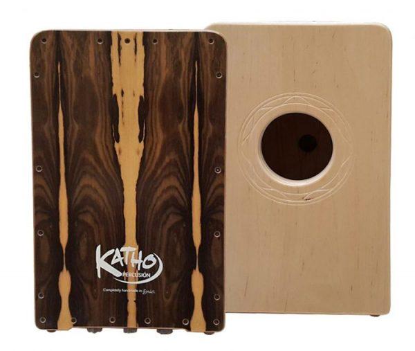 cajon flamenco Katho Percusión ziricote