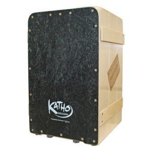 cajon flamenco Katho Percusión rustico negro