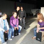 Juanes 2012 latin percussion Katho Percusión