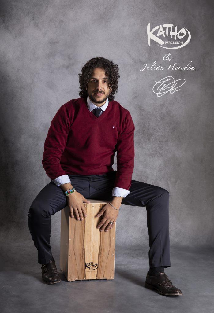 Julian Heredia cajon flamenco Katho Percusión